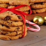 Holiday Cookies with Ribbon
