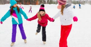 Outdoor and Indoor Ice Skating Rinks on LI from Your Local Kids