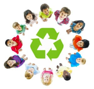 Teaching Kids to Recycle on Long Island