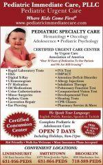 Pediatric Immediate Care Smithtown