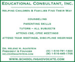Educational Consultant, Inc.