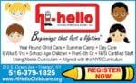 Hi-Hello  Child Care Center, Inc.