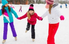 Outdoor and Indoor Ice Skating Rinks on LI