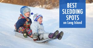 Best Sledding Spots on Long Island from Your Local Kids