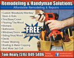 Remodeling & Handyman Solutions
