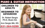 Piano & Guitar Instruction