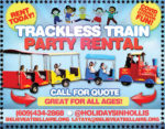 Trackless Train Party Rentals