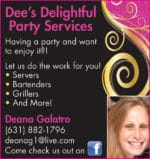 Dee's Delightful Party Services
